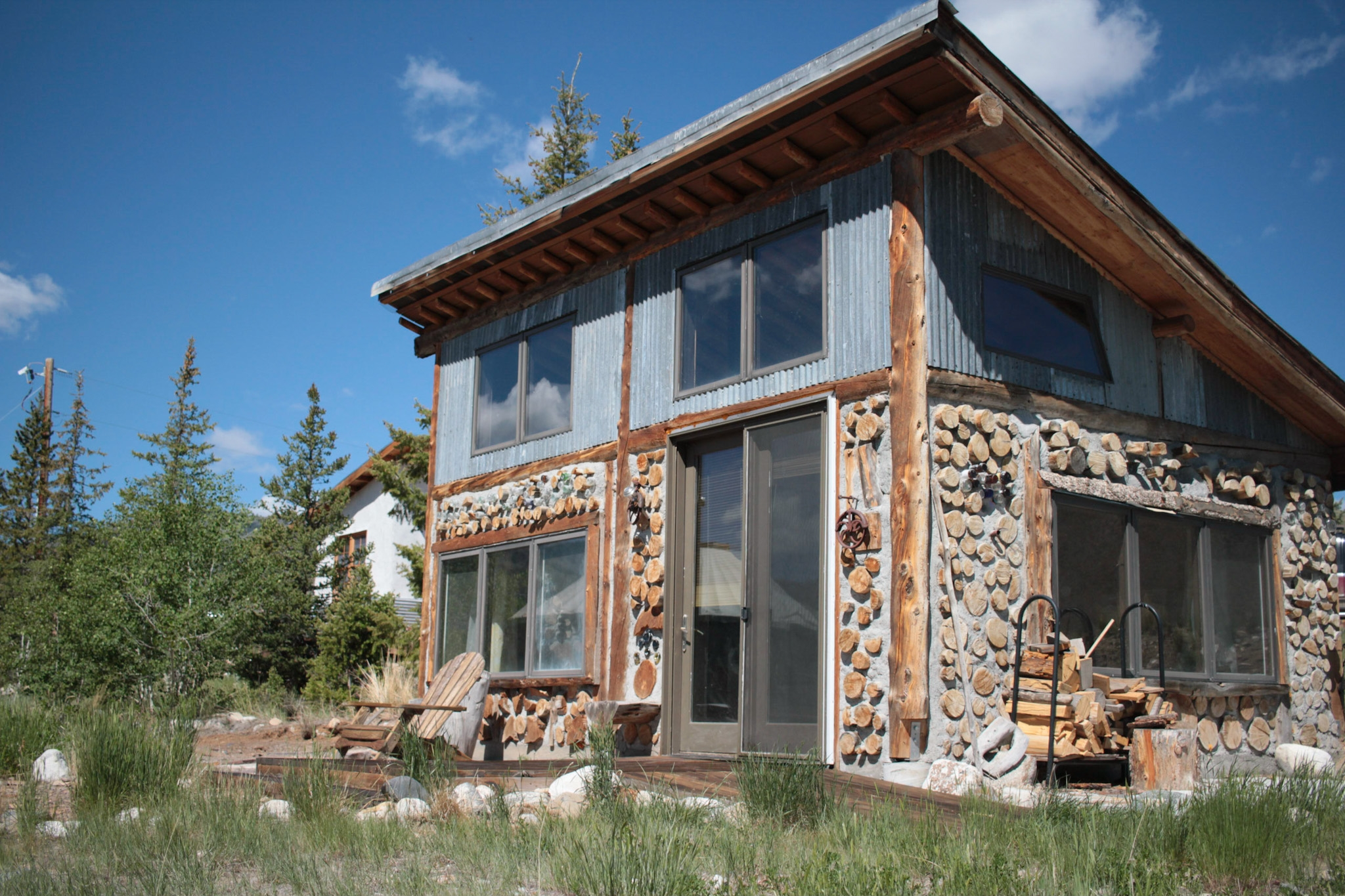 Idaho BaseCamp's Cordwood Cottage